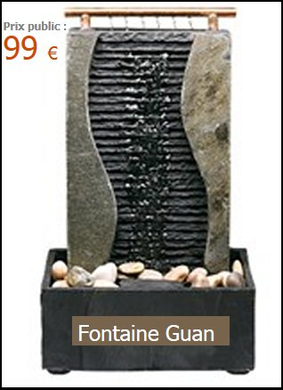 fontaine feng shui modele guan. Black Bedroom Furniture Sets. Home Design Ideas